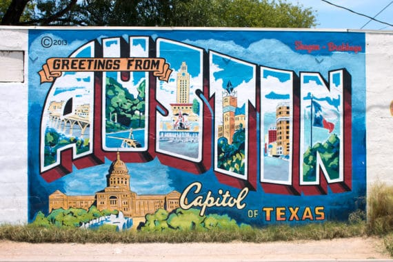what to do in austin austin mural 5 570x380 - What To Do in Austin: The Ultimate Guide to Austin Texas