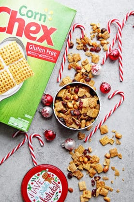 Cranberry Orange Chex Party Mix | Grandbaby Cakes