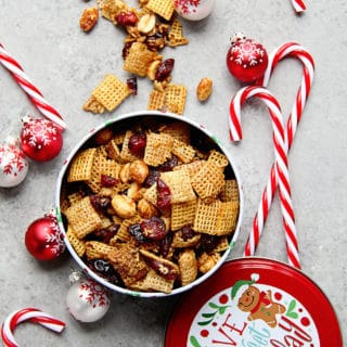 Cranberry Orange Chex Party Mix