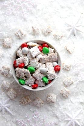 Eggnog Muddy Buddies | Grandbaby Cakes