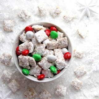 Eggnog Muddy Buddies