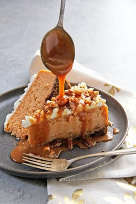 Spiced Sweet Potato Cheesecake Recipe 1 277x416 - Spiced Sweet Potato Cheesecake Recipe