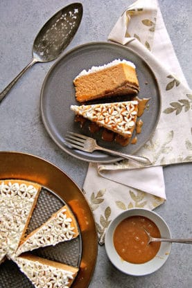 Spiced Sweet Potato Cheesecake Recipe | Grandbaby Cakes