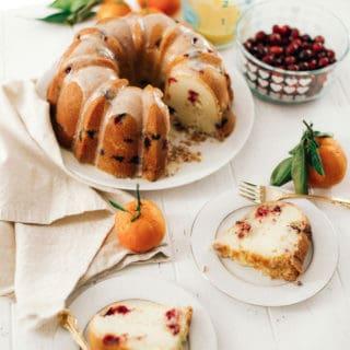 Cranberry Orange Pound Cake with Pyrex | Grandbaby Cakes
