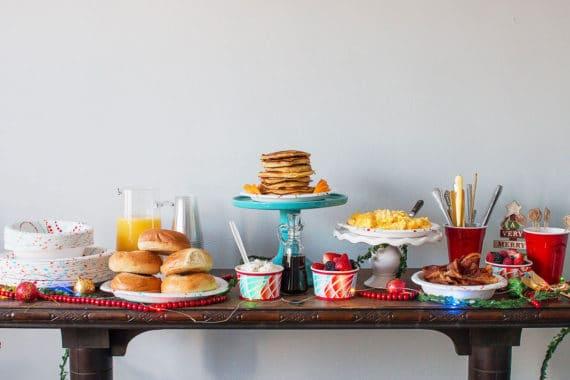 Orange Ginger Pancakes and Holiday Brunch Tips | Grandbaby Cakes