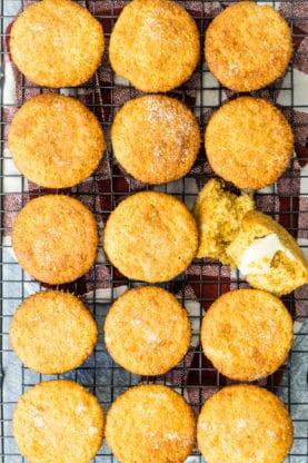 Corn Muffins Recipe   Grandbaby Cakes