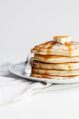 Lemon Ricotta Pancakes Recipe | Grandbaby Cakes