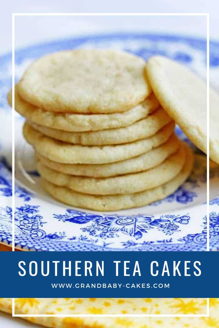 The best (and easiest) Tea Cakes Recipe (or tea cake cookies recipe) is here!  You will feel like you are right in the South after making and serving these, not to mention eating them. #cookies #cookierecipe