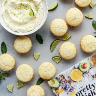 fluffy lemon cupcakes recipe mojito frosting 8 320x320 - Lemon Cupcakes Recipe with Mojito Frosting