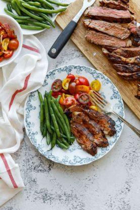Labor Day Recipes - Grilled Ribeye Steak Recipe