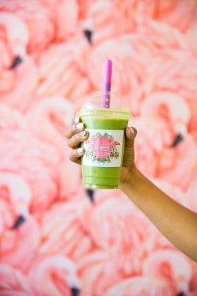 Best Food in Miami - Dreamer South Beach - Healthy Food Green Smoothies #miami