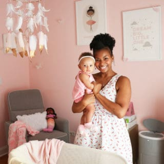 Baby Cakes' Baby Girl Nursery Design
