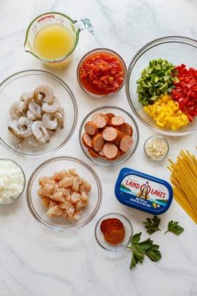 jambalaya pasta recipe web11 277x416 - Cajun Jambalaya Pasta Recipe (With How To Video!)