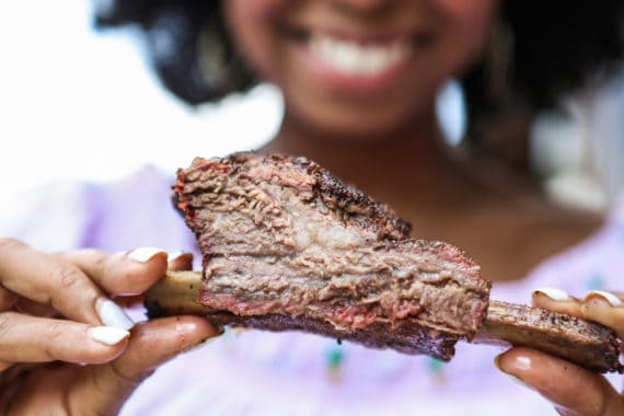 Tender, juicy, and flavorful!  Learn how to cook smoked beef ribs and slow grill a beef ribs recipe! This tutorial will provide the best tips ever!