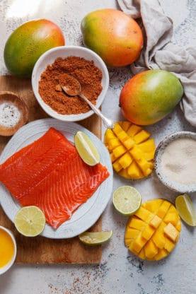 Mango Jerk Salmon Burger 3 277x416 - Mango Jerk Salmon Burgers Recipe