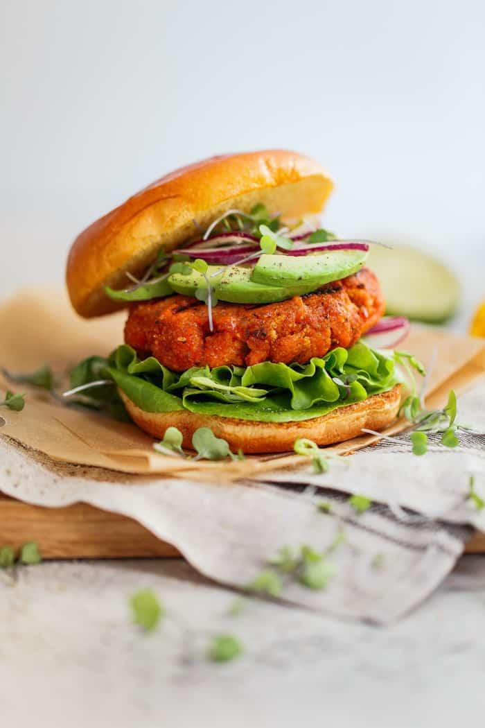 Mango Jerk Salmon Burger 6 - The Ultimate Meal Prep and Pantry Stock List for Quarantine
