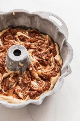 Cinnamon Swirl in Coffee Cake Recipe