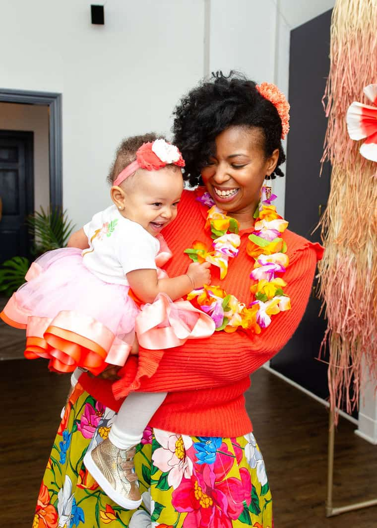 From The Very Beginning We Had A Hawaiian Luau In Mind At First It Seemed Strange To Go Against Season Most Parties Middle Of February Have