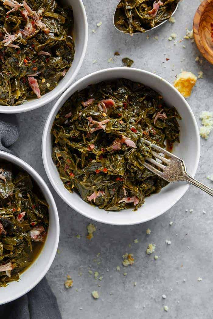 Collard Greens Recipe again - New Year's Day Food Traditions