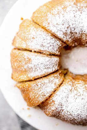 Kentucky Butter Cake Recipe 2 277x416 - Kentucky Butter Cake Recipe with Brown Butter Glaze!