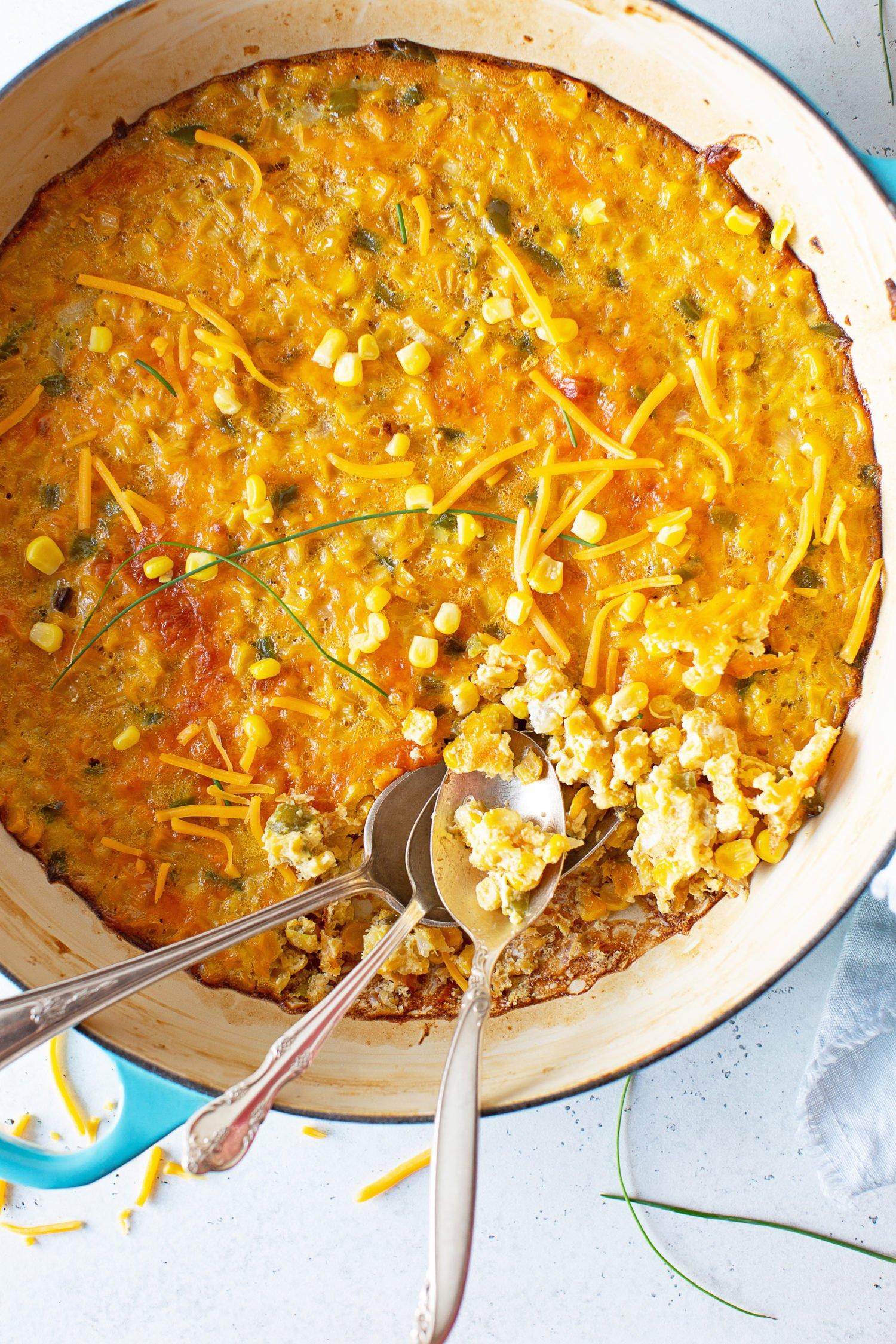 Corn Pudding Recipe 3 e1562854661152 - Southern Corn Pudding Recipe