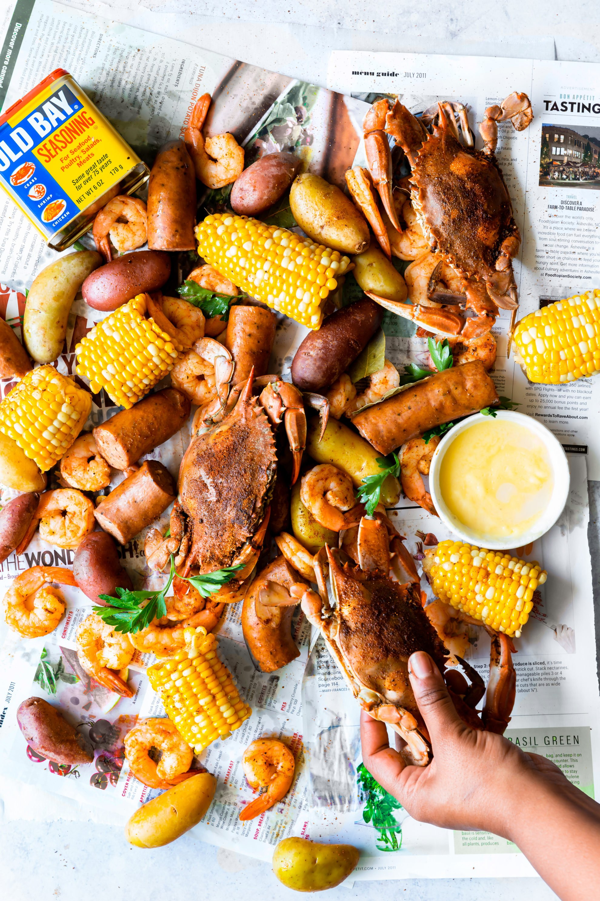 The Best Authentic Frogmore Stew Low Country Boil Recipe Grandbaby Cakes