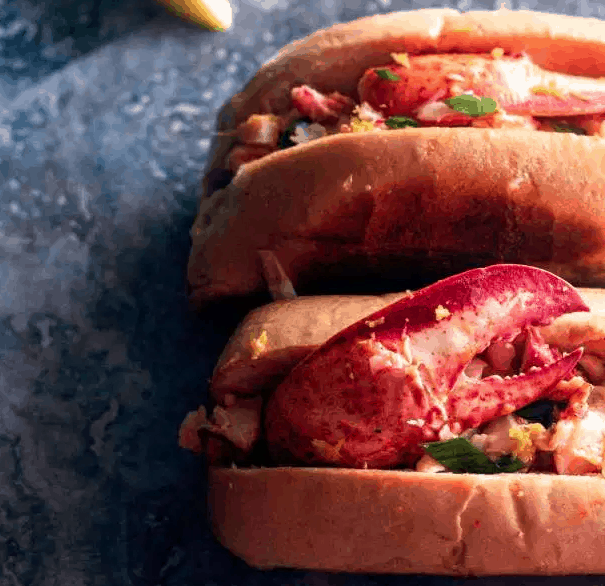Warm Butter Lobster Rolls for Labor Day Recipes