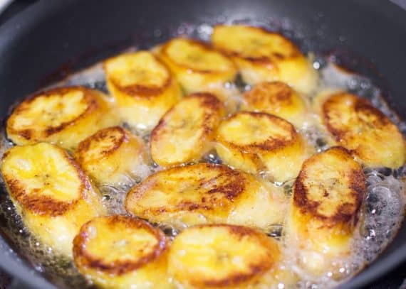 fried plantain 4 570x407 - Fried Plantains - The MOST Delicious Fried Sweet Plantains online!