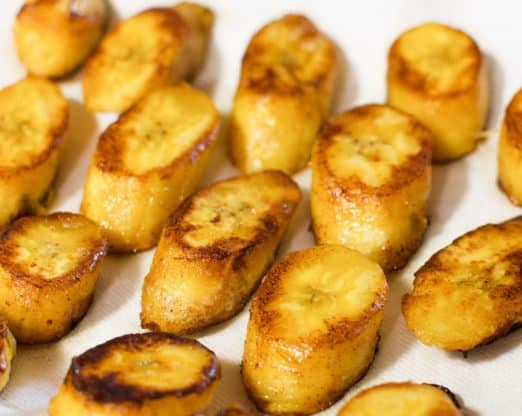 fried plantain 5 522x416 - Fried Plantains - The MOST Delicious Fried Sweet Plantains online!