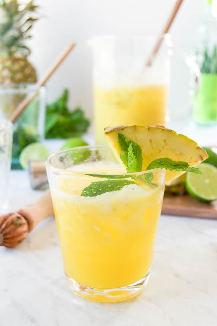 Pineapple Rum Punch for Labor Day Recipes