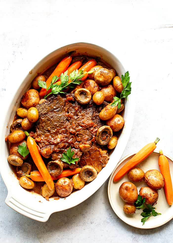 Pot Roast Recipe 1 - The MOST Tender and Flavorful Classic Pot Roast Recipe Ever!
