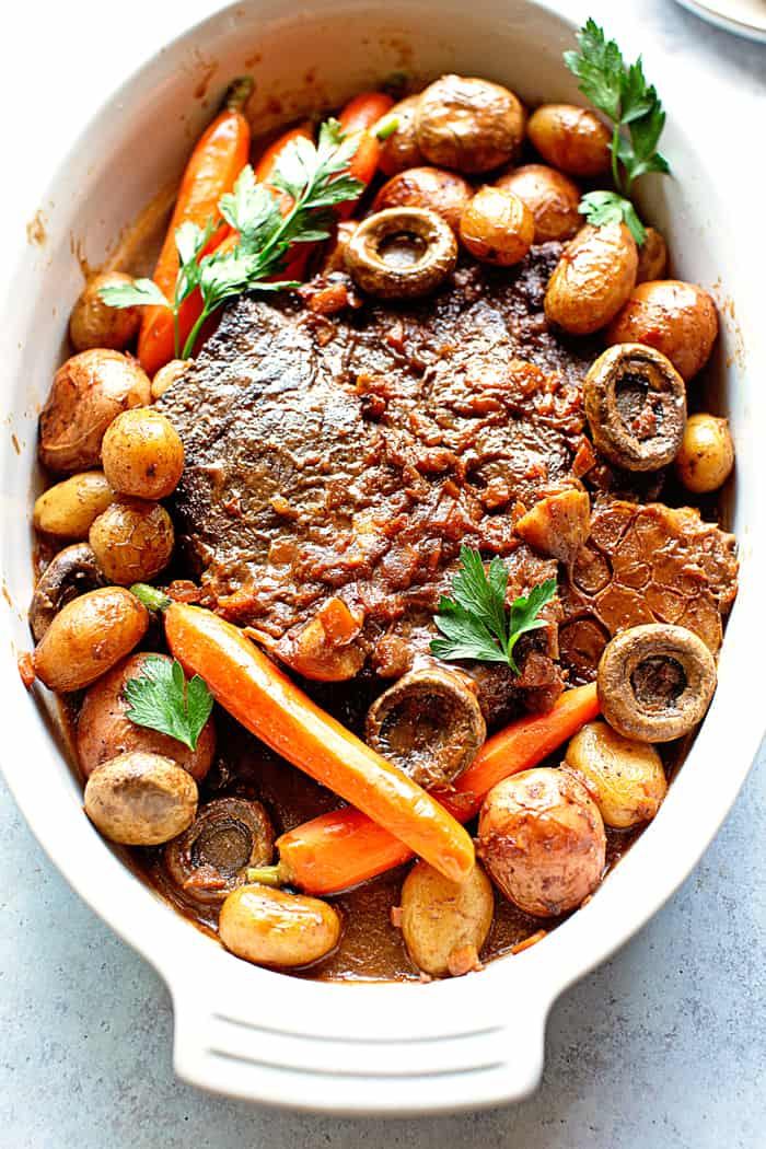 Pot Roast Recipe 3 - The MOST Tender and Flavorful Classic Pot Roast Recipe Ever!