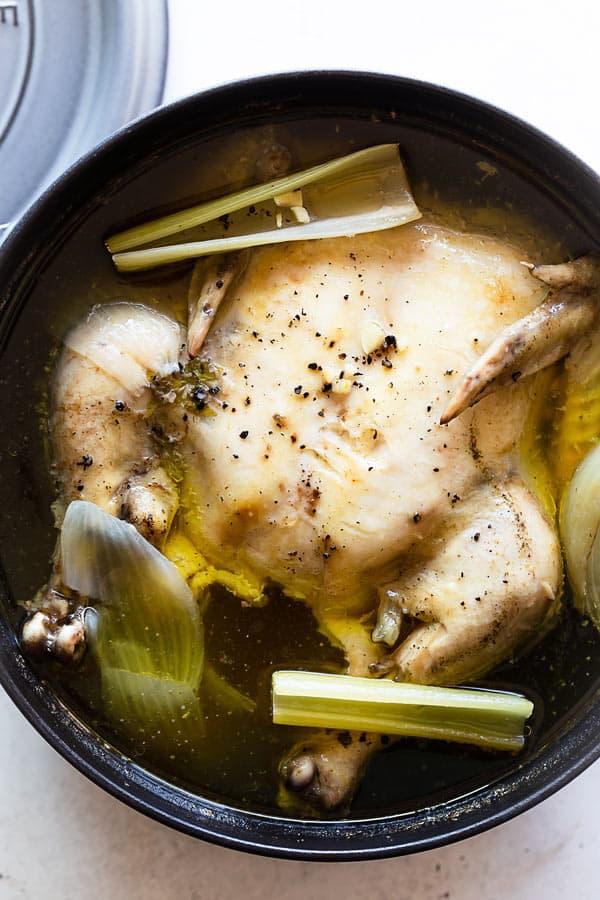 Chicken Stock 2 - How to Make Chicken Stock Recipe