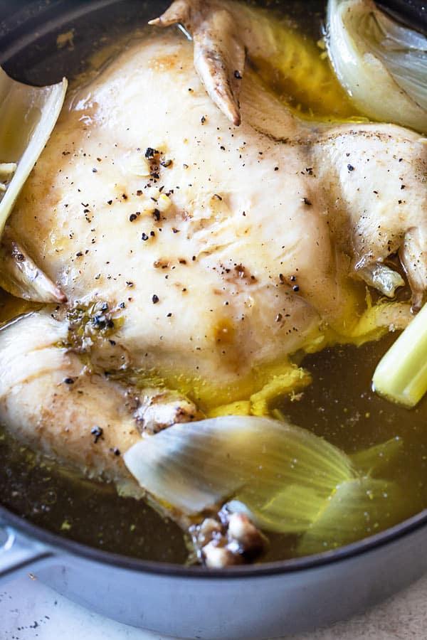Chicken Stock 3 - How to Make Chicken Stock Recipe