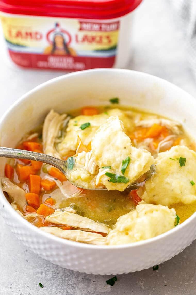 Chicken and Dumplings 4 - Southern Chicken and Dumplings