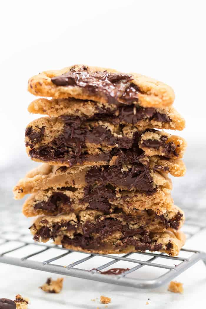 Sweet and Salty Homemade Chocolate Chip Cookies 1 - Sweet and Salty Homemade Chocolate Chip Cookies