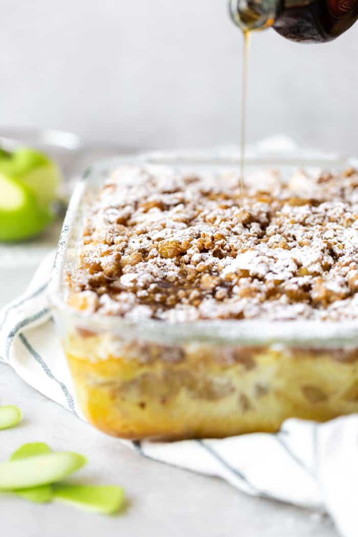 Apple Crisp French Toast 3 - Apple Crisp French Toast