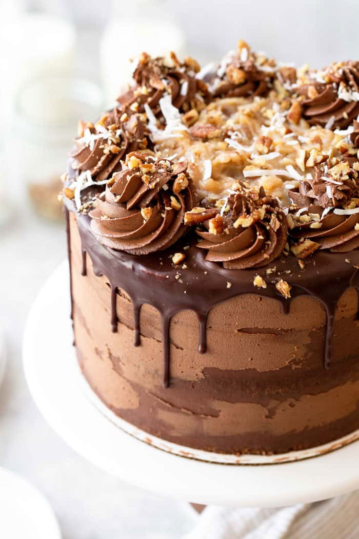German Chocolate Cake Recipe 2 - German Chocolate Cake Recipe (With How To Video)
