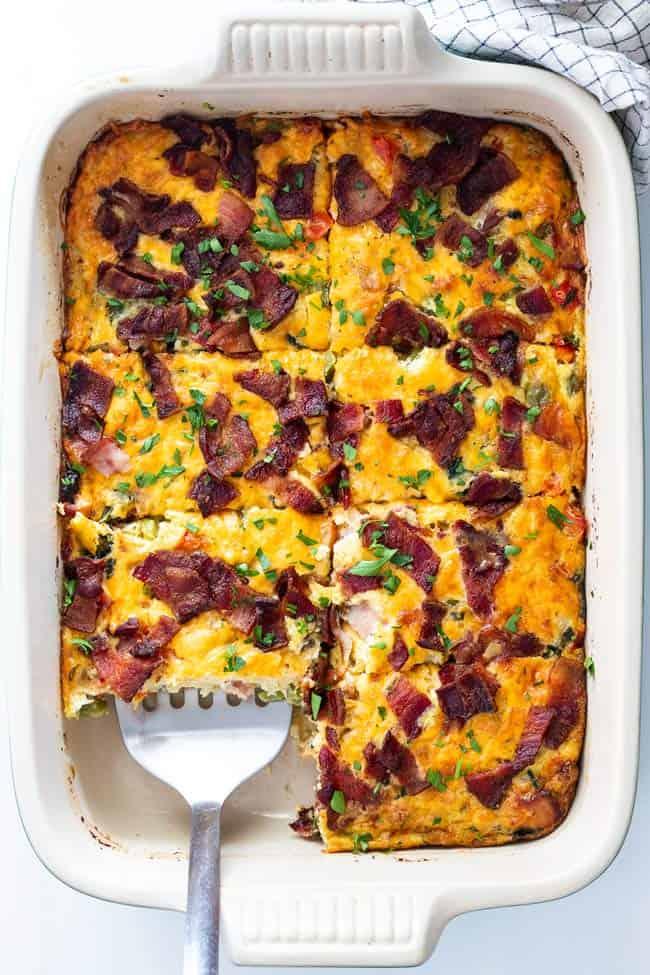 Breakfast casserole 4 - Easy Breakfast Casserole Recipe (With How To Video)