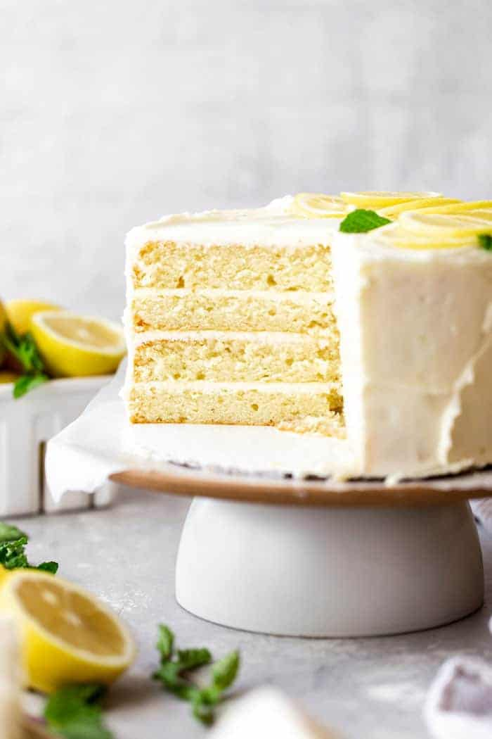 Lemon Layer Cake 3 - Lemon Layer Cake