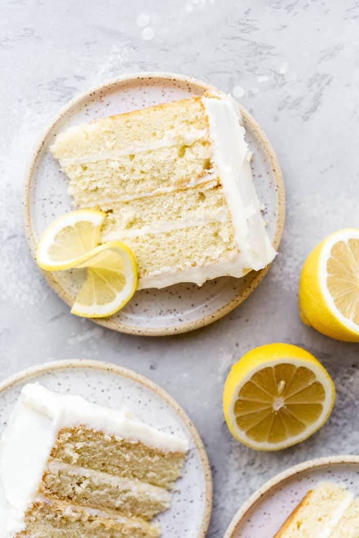 Lemon Layer Cake 5 - Lemon Layer Cake