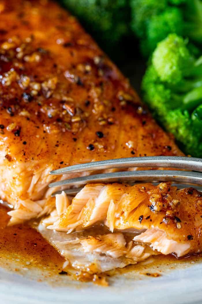 Maple glazed salmon 1 - Maple Glazed Salmon