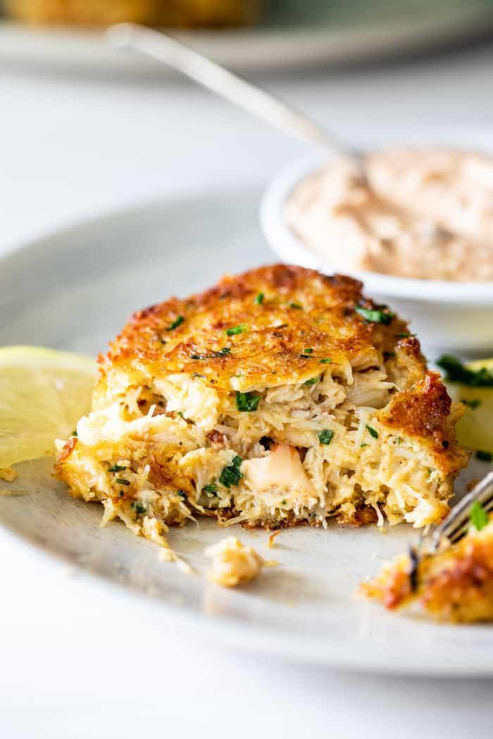 Crab cakes 1 - Crab Cake Recipe (The BEST!)