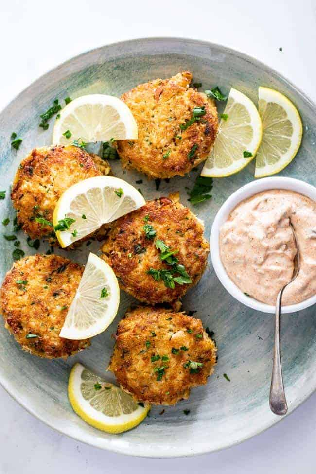 Crab cakes 3 - The Ultimate Easter Menu!