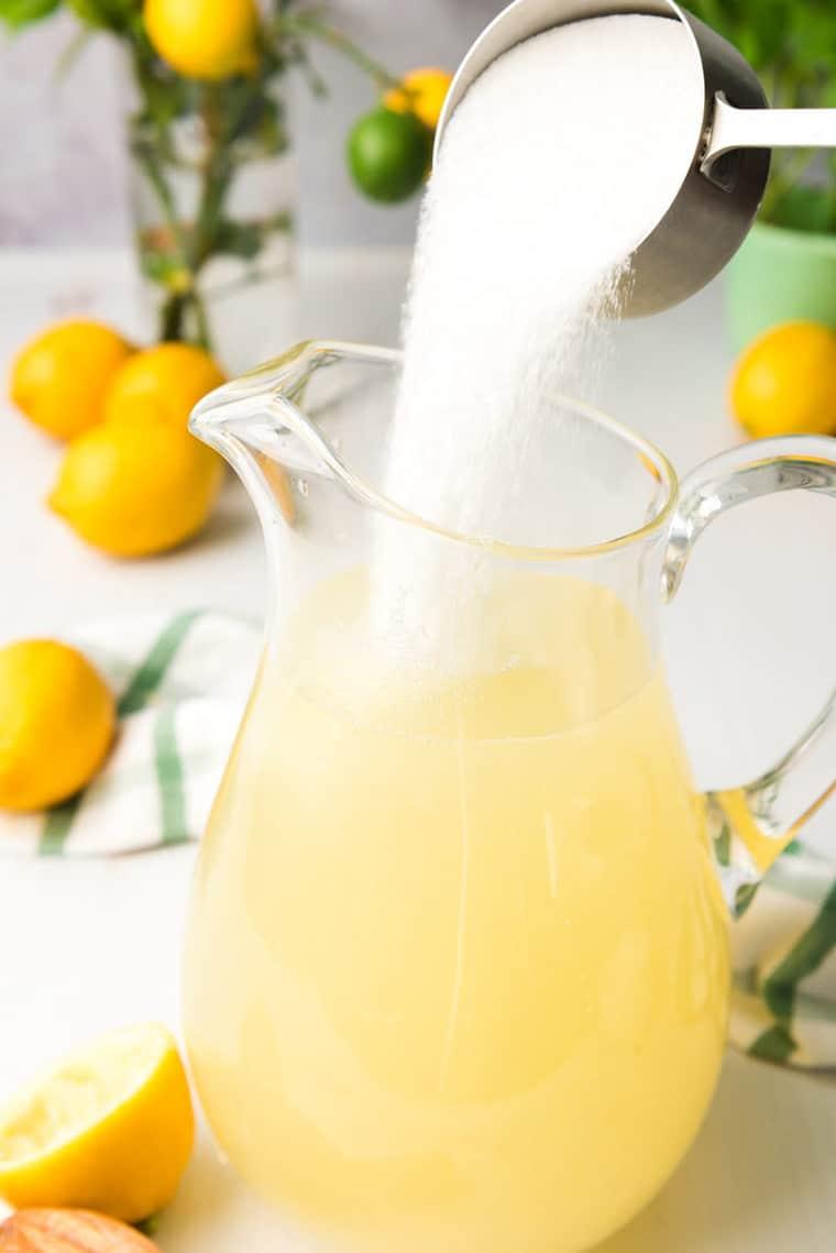 Homemade Lemonade 5 - Homemade Lemonade Recipe