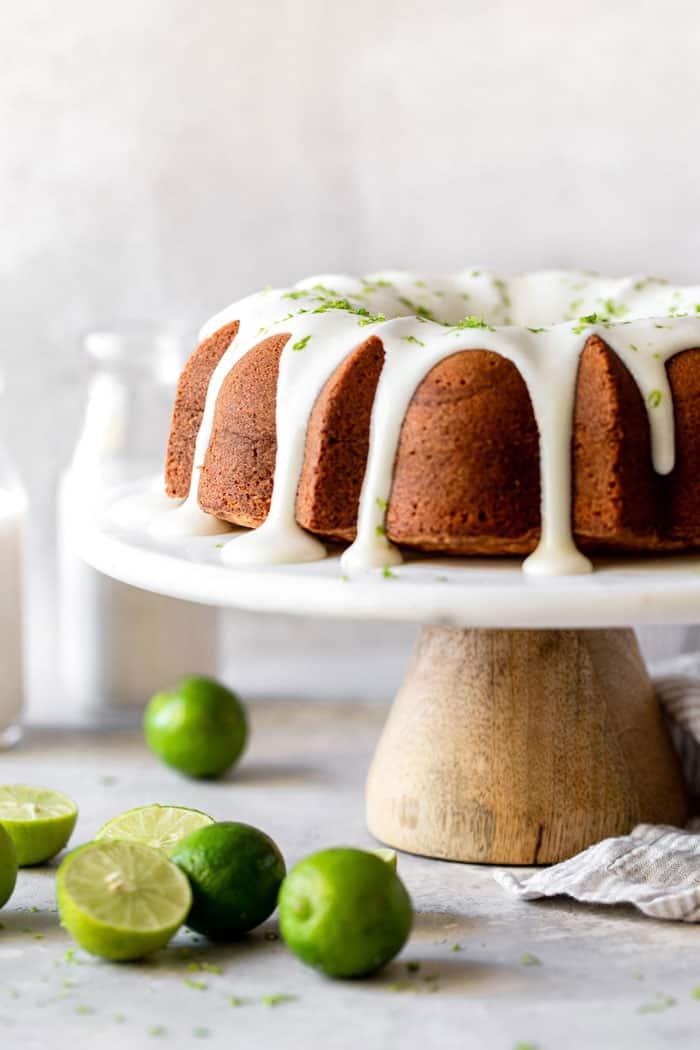 Key Lime Pound Cake 2 - Key Lime Cake Recipe