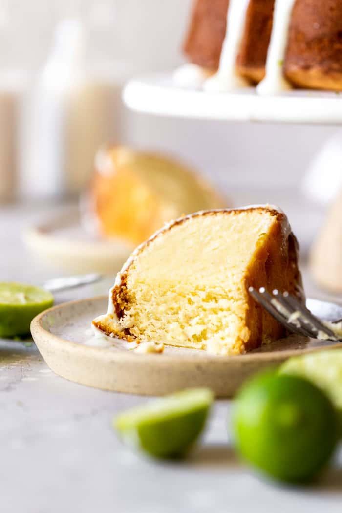 Key Lime Pound Cake 3 - Key Lime Cake Recipe