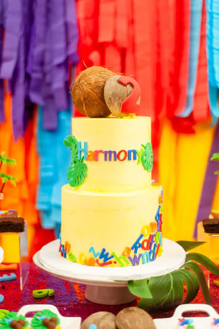 chicka chicka boom boom 11 - Chicka Chicka Boom Boom Book Party- 2nd Birthday Party Ideas!