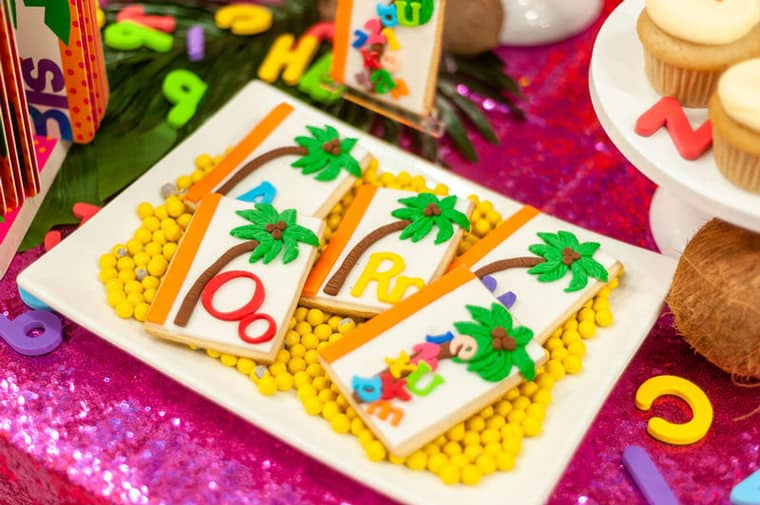 chicka chicka boom boom 12 - Chicka Chicka Boom Boom Book Party- 2nd Birthday Party Ideas!