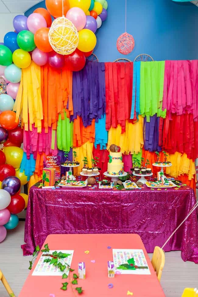chicka chicka boom boom 14 - Chicka Chicka Boom Boom Book Party- 2nd Birthday Party Ideas!